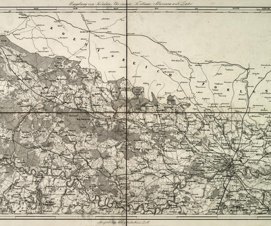 Bl 7 Umgebung von Krakau Chrzanow Trzebinia Alwernia und Zator