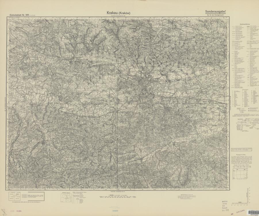 Eb 389 Krakau Krakow 10.1936 uniberk