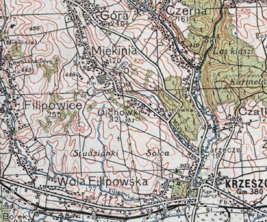 Miekinia-1939-kolejka-mapa-polska