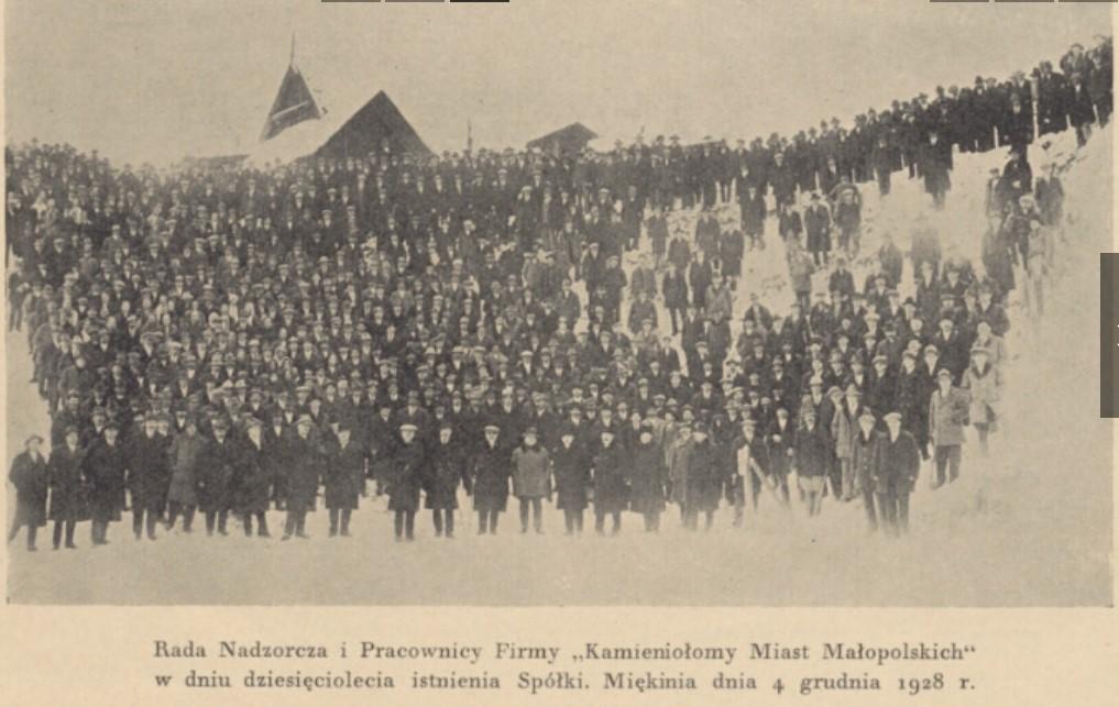 Barbórka 1928 Miękinia