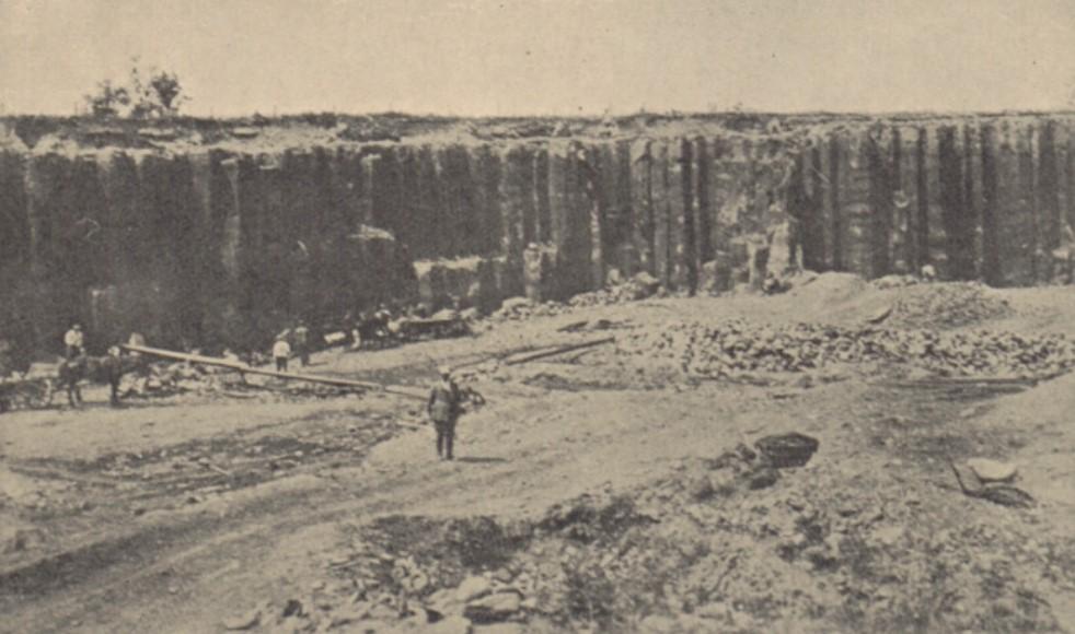 Kopalnia wBerestowcu, lata 20 XIX w.