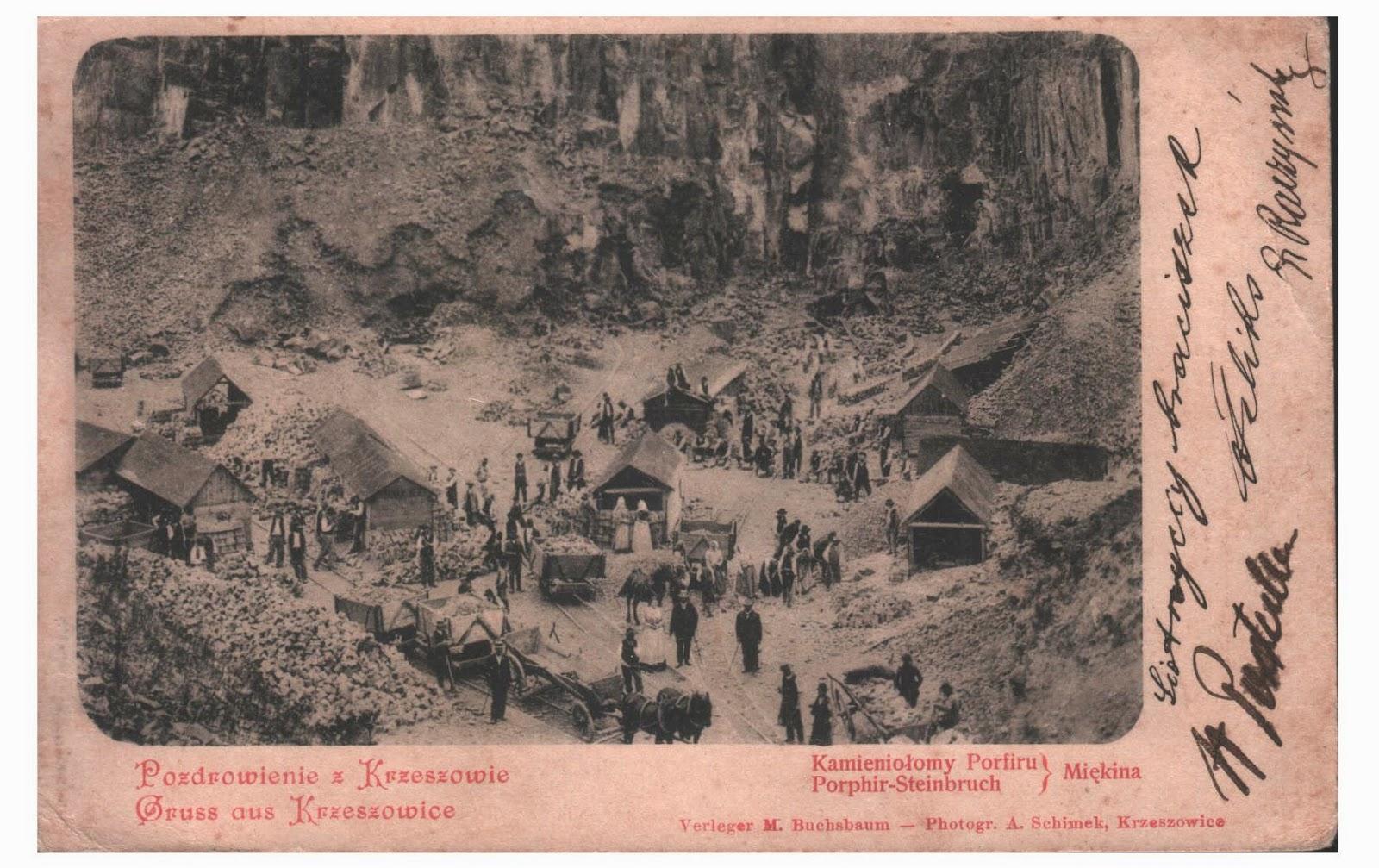 Kamieniolom pocztówka