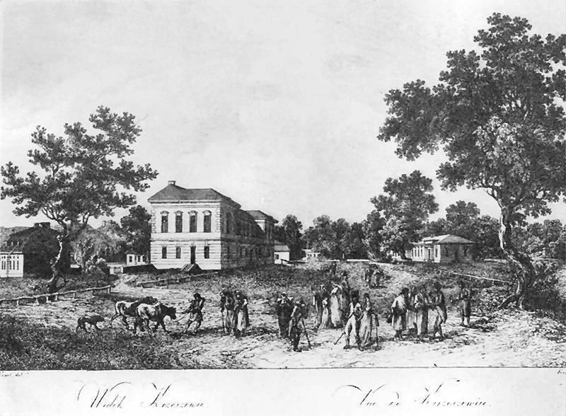 Krzeszowice widok 1792