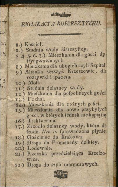 Krzeszowice widok uzrowiska 1788 2