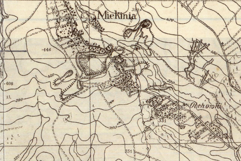 Miękinia 1944 m.niem.