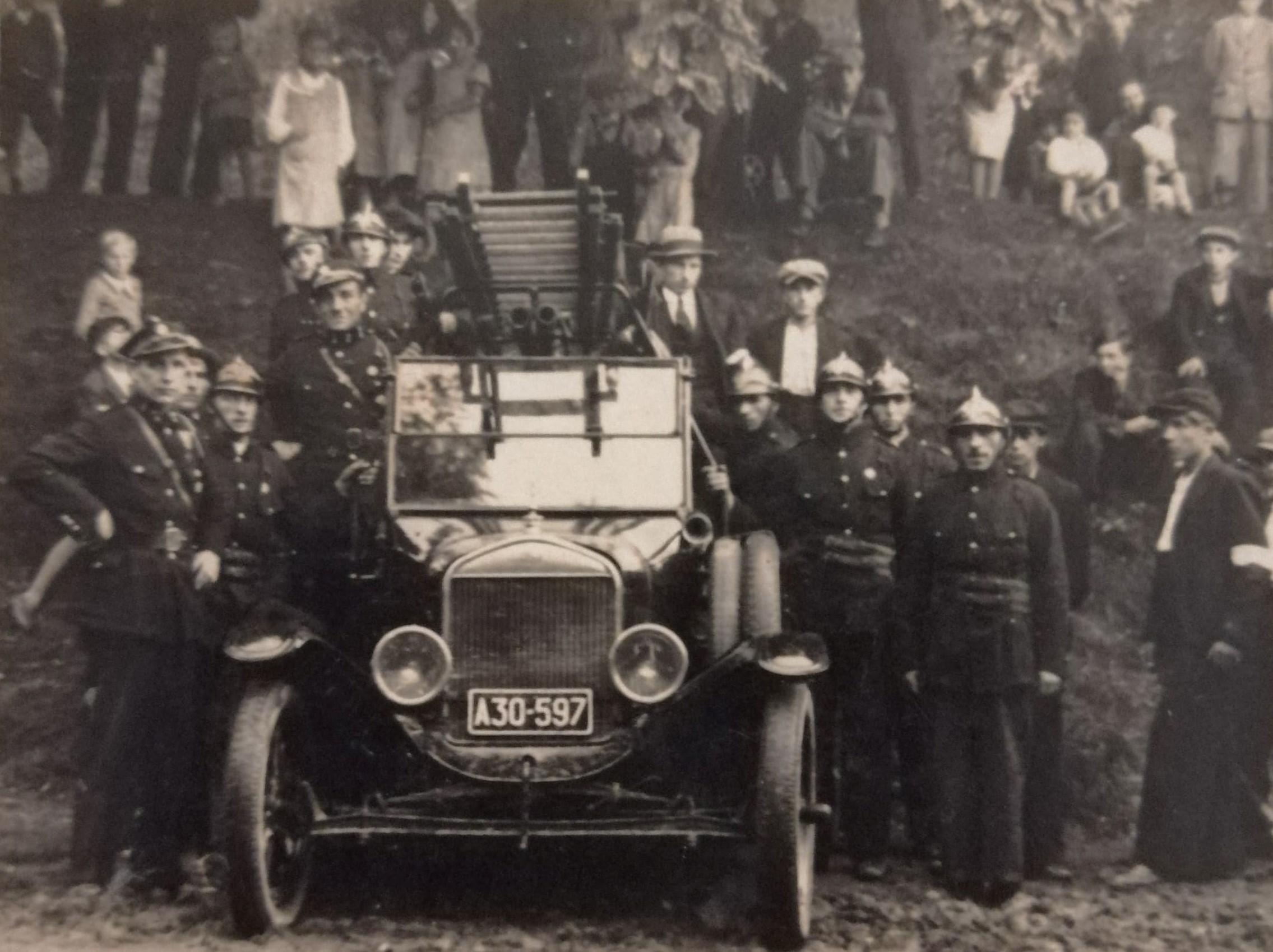 Przekazanie Wozu Starżackiego OSP Miękinia, Grabowski Jan, komendant 1930 (1938)