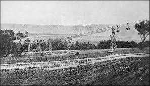 Najstarsze zachowane fotografie kolejki linowej