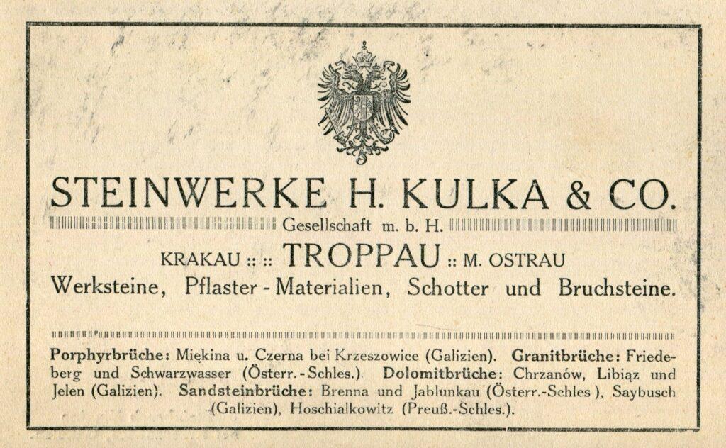 Awers irewers pocztówki z1910 r.