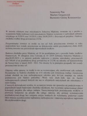Pismo Sołtysa str.1